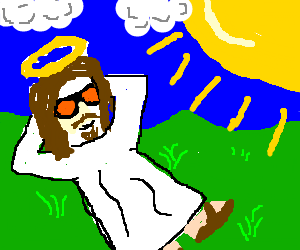 Jesus loves the sun