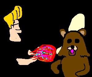 Johnny Bravo hadoukens pedobear