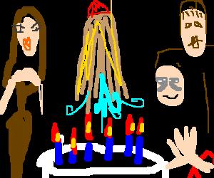 Cousin Itt birthday