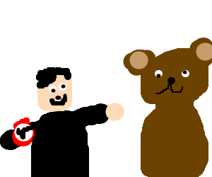 Hitler likes limbless bear.