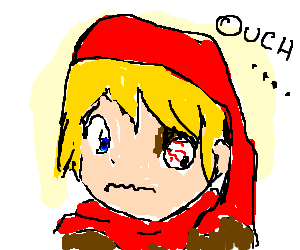 Little Red Riding Hood Loses an Eye