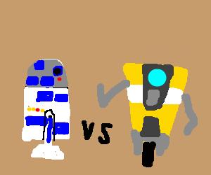 claptrap vs r2d2