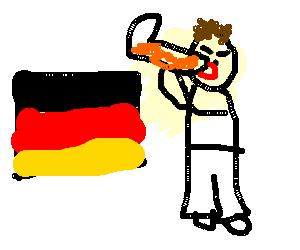 Final round in Beerfest, Germany get Das Boot