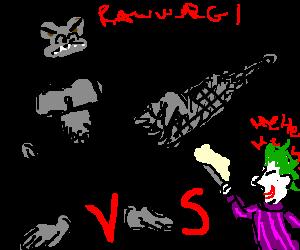 King Kong vs Joker