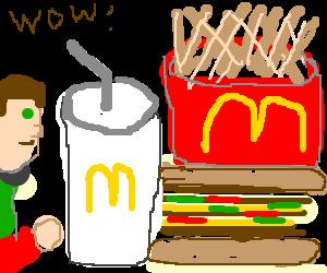Super super supersized McDonalds