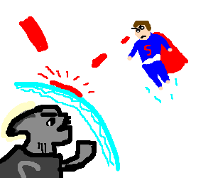 superhero kids fight to the DEATH