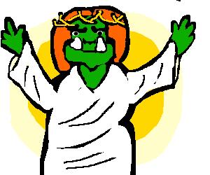 Orcish Jesus
