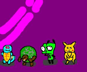 Invader Zim invades Pokemon