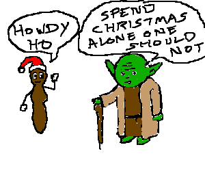 Yoda meet Mr.hankey for holiday season