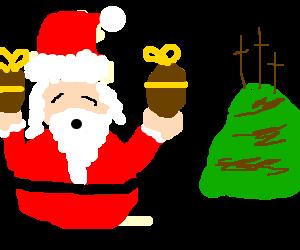 Ho ho ho! Merry Easter!