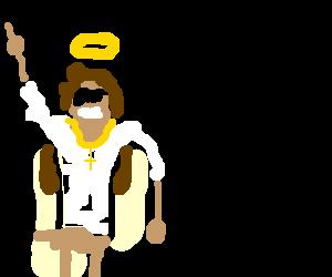 bad ass mutha jesus