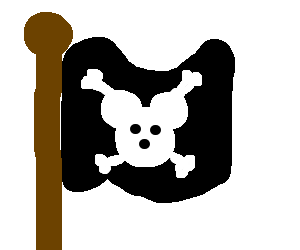 Mikey mouse jolly roger