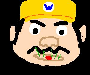 Wario has terrible Breath