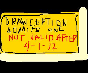 Drawception ticket expired