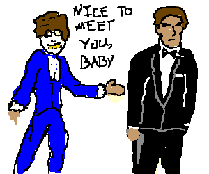 Austin Powers meets James Bond