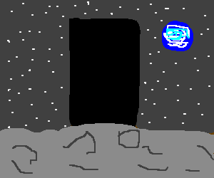 2001 Space Odyssey Monolith