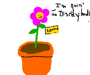 Potted plant wins the lottery