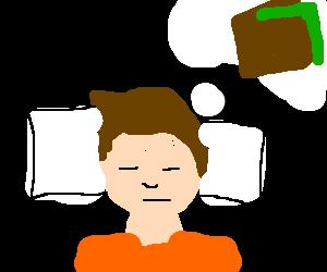 Man dreams about his wallet