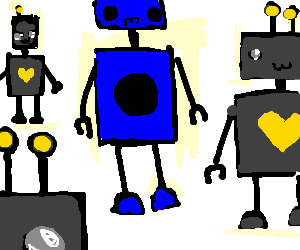 A robot who can't love