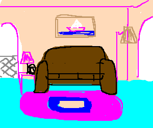 Living Room From The Simpsons