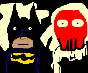 batman and ziodburg looking nonchalant