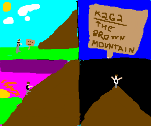 Man discovers, summits K2G2, a brown mountain