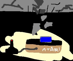 Quake on Atari console