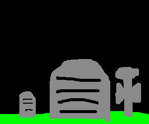 musical tombstones