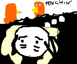 Don't think of orange penguins