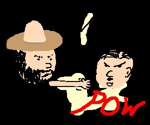 Chuck Norris vs Hitler