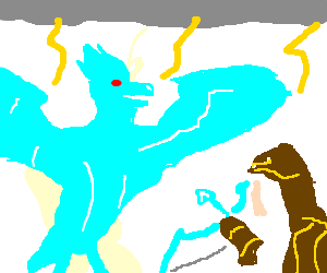 Epic Clash Between Anivia and Ashe
