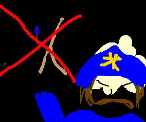 No drawing