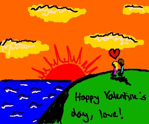 Happy valentines day, love!