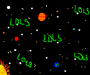 Lols in Space