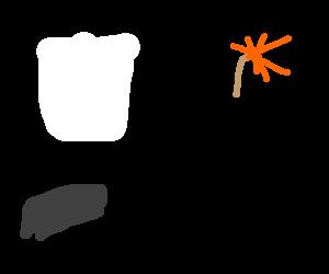 A Paper-Shrapnel bomb