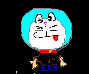 Doraemon became human