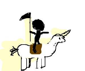 854408bb8 Death's horse, Binky - Drawception