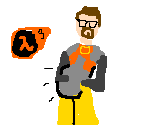 In Half Life 3, Gordon Freeman lets himself go
