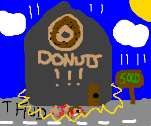 Boy crushed to find favorite donut shop sold.