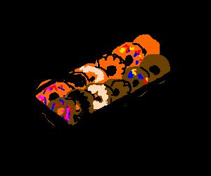 A dozen donuts