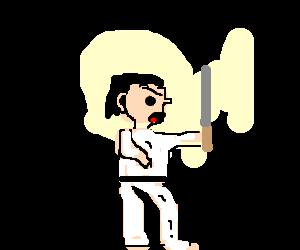 Angry samurai