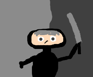 One Grey Haired Ninja
