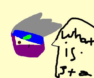 Purple math ninja!