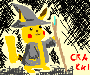 Wizard Pikachu
