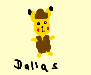 Pikachu Does Dallas