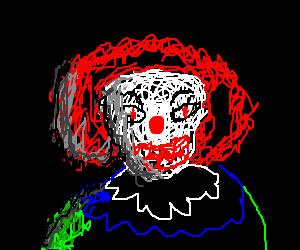 Crazy clown killer