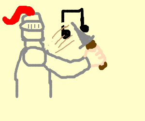 Knight attempts to slice music
