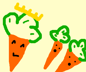 king of carrot-clovers