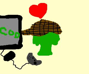 Broccoli Sherlock loves games!