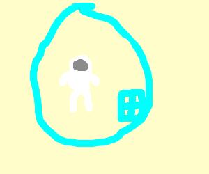 Astronaut bubble